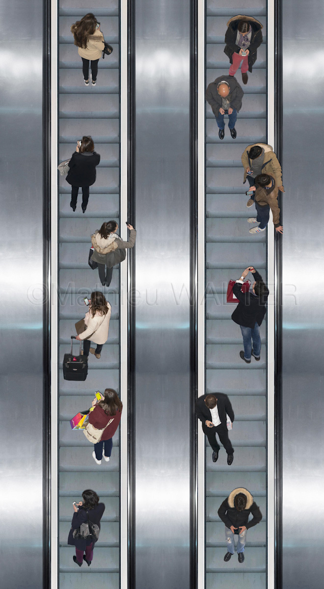Escalator - Tout un monde - Communication